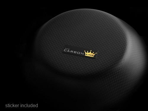 DUCATI CARBON FIBRE PETROL FILLER CAP COVER TWILL ONE SIDE PLAIN THE OTHER