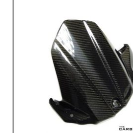 SUZUKI GSXS1000 2015 ON CARBON FIBRE REAR MUDGUARD IN GLOSS TWILL HUGGER FIBER