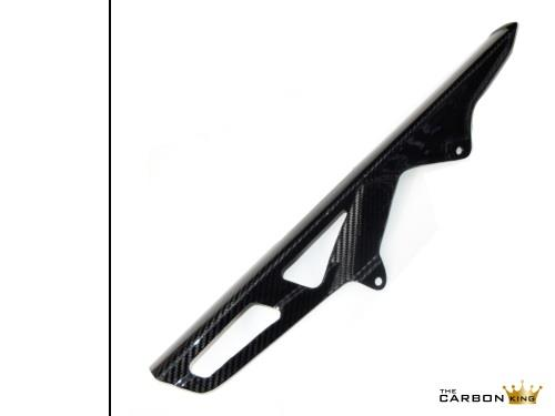 THE CARBON KING SUZUKI GSXR 1000 CHAIN GUARD 2007-2016 FIBRE FIBER GSXR1000