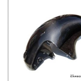 THE CARBON KING SUZUKI HAYABUSA 2008-14 CARBON FIBRE FRONT MUDGUARD FENDER FIBER
