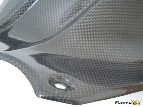 TRIUMPH 1050 SPEED TRIPLE CARBON FIBRE REAR MUDGUARD HUGGER FIBER 2011-2017