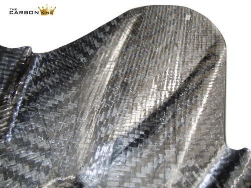 THE CARBON KING SUZUKI GSXR 600 750 2011-17 CARBON FIBRE REAR MUDGUARD HUGGER