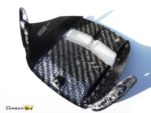 THE CARBON KING YAMAHA YZF R6 CARBON FIBRE REAR HUGGER 2006-17 MUDGUARD FIBER R6