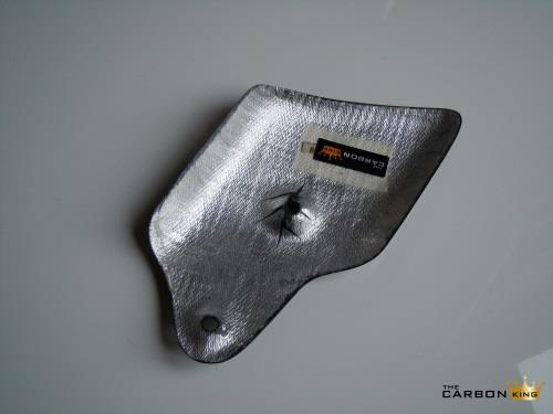 THE CARBON KING EXHAUST HEAT SHIELD FOR DUCATI 748 916 996 998 FIBER GUARD FIBRE