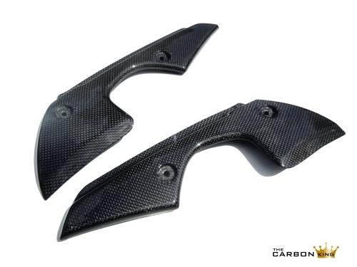 THE CARBON KING YAMAHA R1 2009-14 CARBON FIBRE UPPER FAIRING VENT INFILL TRIM