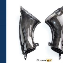 THE CARBON KING YAMAHA R1 2007-08 CARBON FIBRE RAM AIR INTAKE TUBES FIBER 07 08
