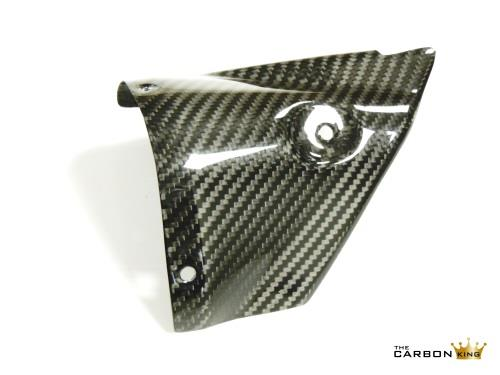 THE CARBON KING YAMAHA YZF R6 2006-07 CARBON FIBRE EXHAUST HEAT SHIELD TWILL