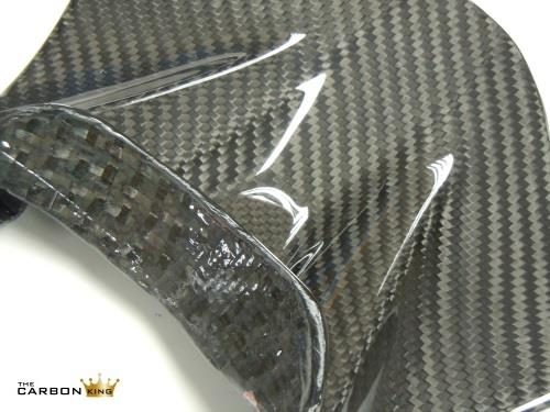 YAMAHA R6 2017 CARBON FIBRE SEAT TRIM IN CARBON FIBRE BETWEEN PILLION AND RIDER
