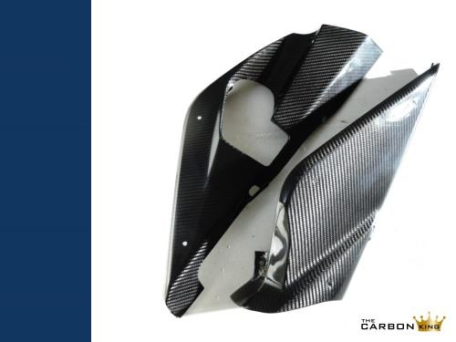 THE CARBON KING YAMAHA YZFR125 CARBON FIBRE LOWER BELLY PANS FAIRING FIBER PAIR