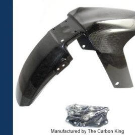 THE CARBON KING YAMAHA YZFR125 CARBON FIBRE FRONT MUDGUARD YZF R 125 FIBER !NEW!