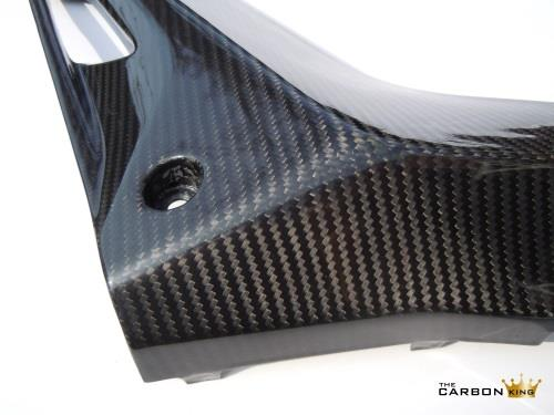 THE CARBON KING YAMAHA YZFR125 CARBON FIBRE SIDE FAIRING INFILL PANELS YZF R 125