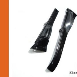 APRILIA RSV 98-2003 CARBON FIBRE UPPER FAIRING INFILL SET IN PLAIN WEAVE