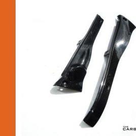 APRILIA RSV 98-2003 CARBON FIBRE UPPER FAIRING INFILL SET IN PLAIN WEAVE