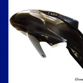 BMW K1200S K1300S/K1200R CARBON FRONT MUDGUARD IN TWILL WEAVE