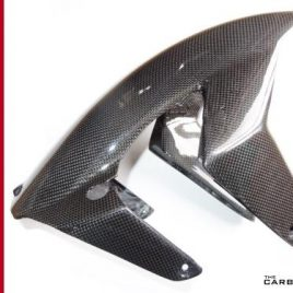 DUCATI 749/999 CARBON FIBRE FRONT FENDER IN PLAIN WEAVE