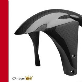 DUCATI 748/916/996/998 CARBON FIBRE FRONT FENDER IN PLAIN WEAVE