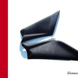 DUCATI 748/916/996/998 CARBON FIBRE AIR BOX SIDE COVERS IN PLAIN WEAVE