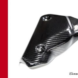 DUCATI 848/1098/1198 CARBON FIBRE EXHAUST HEAT SHIELD IN TWILL WEAVE