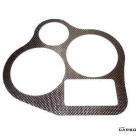 DUCATI 900SS 3 CLOCK CARBON DASH TRIM IN PLAIN WEAVE