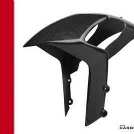 DUCATI MONSTER 696/796/1100 CARBON FIBRE FRONT MUDGUARD IN PLAIN WEAVE