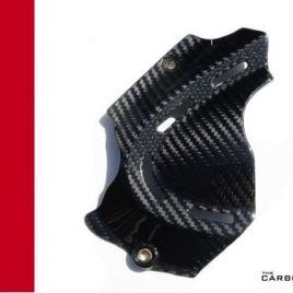 DUCATI MONSTER 696/796/1100 CARBON FIBRE SPROCKET COVER IN TWILL WEAVE