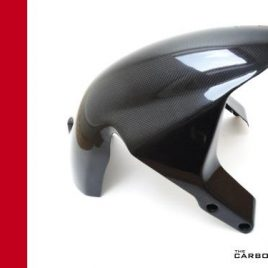 THE CARBON KING ST2 ST3 ST4 CARBON FIBRE FRONT MUDGUARD FENDER FIBER DUCATI