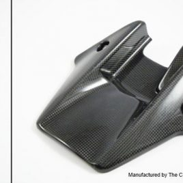 HONDA CBR1000RR 2008-11 CARBON FIBRE REAR HUGGER IN PLAIN WEAVE