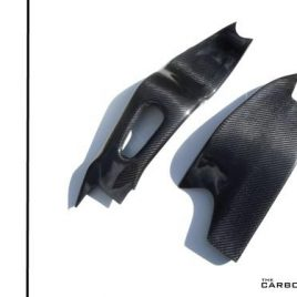 HONDA CBR1000RR 2004-07 CARBON FIBRE SWINGARM COVERS IN TWILL WEAVE