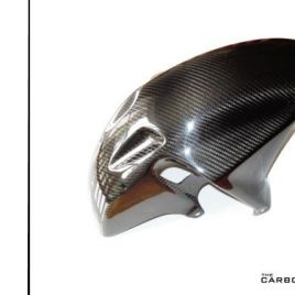 HONDA FIREBLADE 929 954 2000-2003 (SP1/SP2) CARBON FRONT MUDGUARD IN TWILL WEAVE