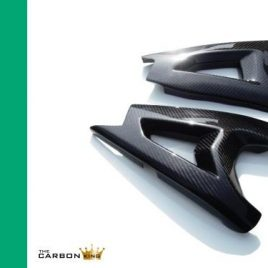 KAWASAKI ZX10R 2011-15 CARBON FIBRE SWINGARM COVERS IN TWILL WEAVE