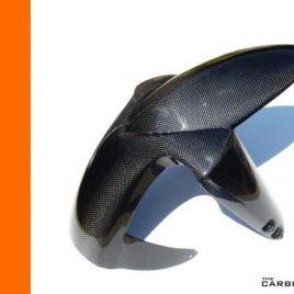 KTM DUKE 2 II 640/660/990 CARBON FIBRE FRONT MUDGUARD IN PLAIN WEAVE