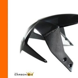 KTM DUKE 690 2012-15 CARBON FIBRE FRONT MUDGUARD IN TWILL WEAVE