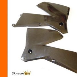 KTM SX125/SX250 2005-06 CARBON FIBRE RADIATOR FAIRING SCOOPS IN PLAIN WEAVE