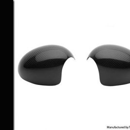 CARBON FIBRE MINI WING MIRROR COVERS (PAIR) FITS R50/R52/R53 IN TWILL WEAVE