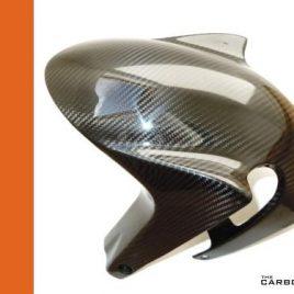 APRILIA RSV4/TUONO V4/RSVR FACTORY CARBON FRONT MUDGUARD IN TWILL WEAVE