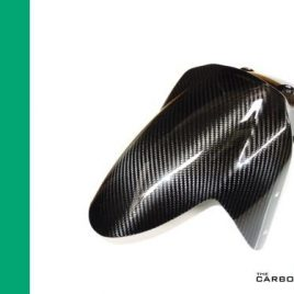 TRIUMPH 1050 SPEED TRIPLE 2005-10 CARBON FRONT MUDGUARD IN TWILL WEAVE