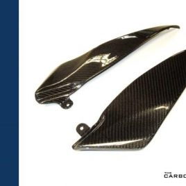 YAMAHA YZF R1 2004-06 CARBON FIBRE PETROL TANK LOWER SIDE PANELS IN TWILL WEAVE