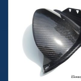 YAMAHA R1 2009-14 CARBON FIBRE REAR HUGGER IN TWILL WEAVE