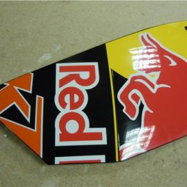 KTM RC8 RED BULL FAIRING PANEL USED AND WITH MARKS BUT GENERALLY GOOD CONDITION