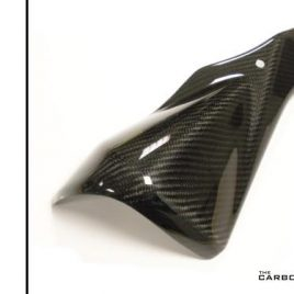 SUZUKI GSXR600/750 2011-12 CARBON FIBRE EXHAUST HEAT SHIELD IN TWILL WEAVE