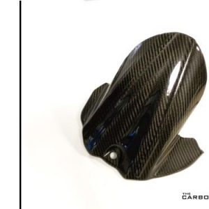 SUZUKI GSXR600/750 2006-10 CARBON FIBRE REAR HUGGER IN TWILL WEAVE STYLE 2