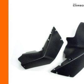 KTM RC8/RC8R CARBON FIBRE MIDDLE FAIRING UPRIGHT PANELS IN MATT TWILL WEAVE