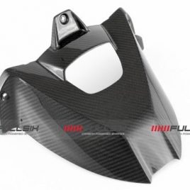 BMW S1000RR/S1000R UP TO 2018 CARBON FIBRE REAR HUGGER BY FULLSIX IN TWILL WEAVE