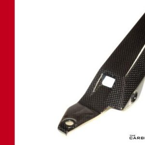 DUCATI 899 PANIGALE CARBON CHAIN GUARD IN PLAIN GLOSS WEAVE