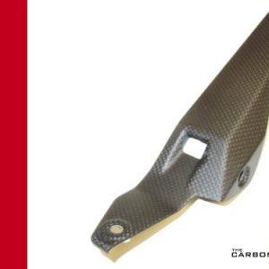DUCATI 899 PANIGALE CARBON CHAIN GUARD IN PLAIN MATT WEAVE