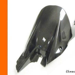 KTM SUPERDUKE 1290/R  2014 ON CARBON REAR HUGGER IN PLAIN GLOSS WEAVE