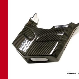 DUCATI 749/999 CARBON STANDARD EXHAUST COVER IN TWILL WEAVE