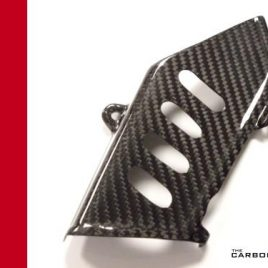 DUCATI 750SS/900SS 1991-1998 4 SLOT CARBON CHAIN GUARD IN TWILL WEAVE