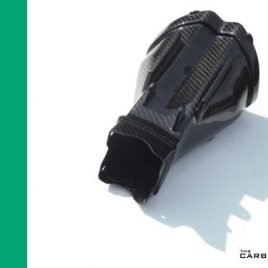 KAWASAKI ZX10R 2004-2006 CARBON FIBRE AIR INTAKE ASSEMBLY IN TWILL WEAVE