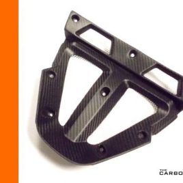 KTM RC8/RC8R CARBON RADIATOR VEE FAIRING PANEL IN TWILL SATIN WEAVE